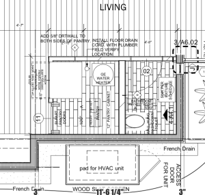 Pantry architect plans